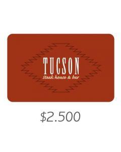 Tucson - Gift Card Virtual $2500