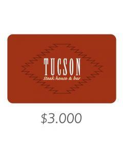 Tucson - Gift Card Virtual $3000