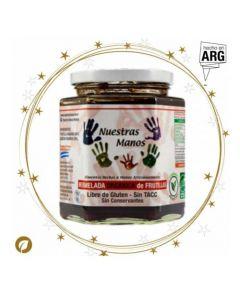 Mermelada Orgánica de Frutilla -Frasco 400 gr