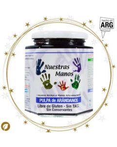 Mermelada Orgánica de Arándanos-Frasco 400 gr