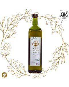 Aceite de Oliva Extra Virgen orgánico 1lts