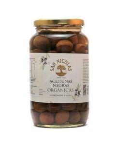 Aceitunas negras orgánicas 500gr
