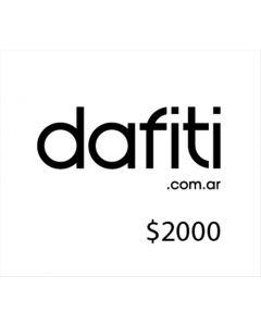 Dafiti - Voucher para tienda online $2000
