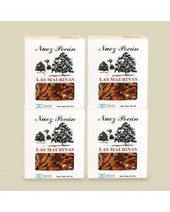 Ofertas Gourmet - 4 cajas de Nuez Pecán Pelada x 190 gramos