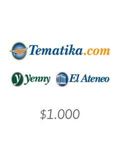 Yenny - Voucher $1000