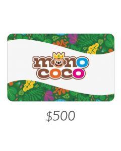 MONO COCO - Gift Card Virtual $500