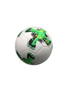 Pelota de futbol blanca y verde- Envío incluido