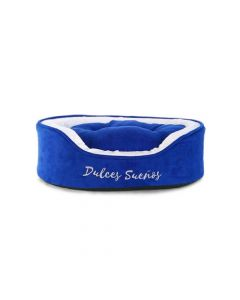 Ofertas Hogar - Cama redonda small Cocooning. Color: Azul. Modelo: 11011