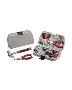 Caja de herramientas de 40 piezas.