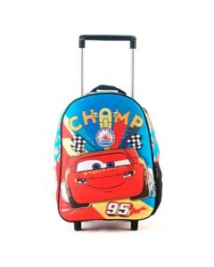 MOCHILA CARS CHAMP 95 CARRO 12in