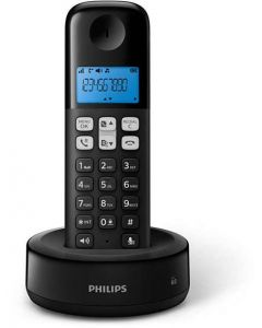 Teléfono inalámbrico Philips Negro- Envío incluido