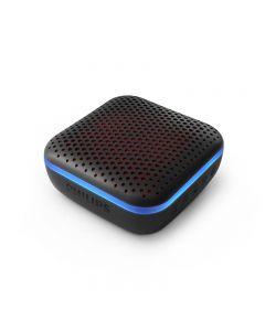 Parlante bluetooth resistente al agua con luces Philips negro- Envío incluido