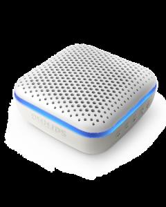 Parlante bluetooth resistente al agua con luces Philips blanco- Envío incluido