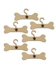 Antojos Perrunos- Set x6 Perchas para colgar ropita de perros