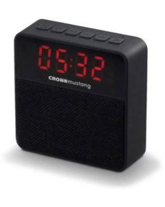 Radio Reloj despertador y parlante digital bluetooth- Crown Mustang