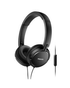 Auricular Philips On Ear C/Mic. Negro - SHL5005/00