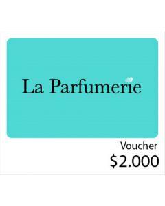 La Perfumerie - Voucher tienda online $2000