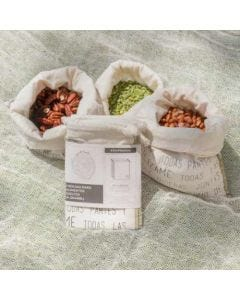 Pack 3 Ecobolsas para alimentos sueltos- Envío Incluído
