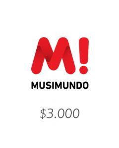Musimundo - Voucher $3000