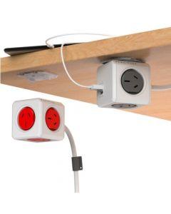 Power Cube - Prologandor eléctrico con puertos USB de 1.5 metros