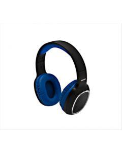 Auricular inalámbrico Bluetooth Daewoo. Color: Negro y azul. Modelo: DI-469BT