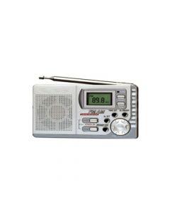 Radio Pocket Con Display Digital De 2 Bandas Am/fm Incluye Auriculares. Modelo: Dmr-521e