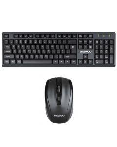 Daewoo- Combo Mouse y Teclado con Cable