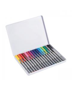 edding - Estuche de microfibras edding x 16 colores