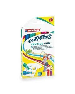 edding - Edding Fantastics- Textile Fun x5