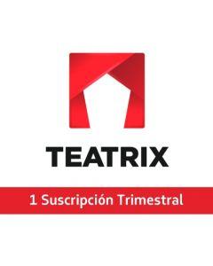 Teatrix - TEATRIX - 1 Suscripción Trimestral