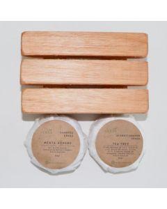 Kit Jabonera - Shampoo Y Acondicionador Vegano