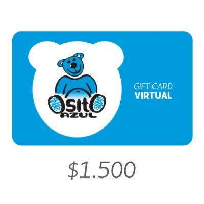 Latam Pass Osito Azul Gift Card Virtual 1500